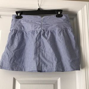 Zara Skirts - ZARA SKIRT BLUE & WHITE STRIPS